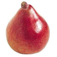 Red pear (one)