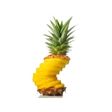 Husked pineapple (one)