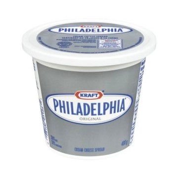 + Philadelphia cream cheese 340g-400g