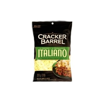 + Fromage râpé Cracker Barrel en sac 250g-320g
