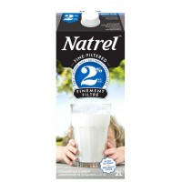 + Natrel fine filtered milk 2l carton