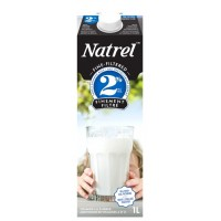+ Natrel fine filtered milk 1l carton