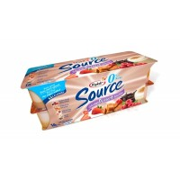 + Yogourt source 0% m.g. Yoplait 16x 100g