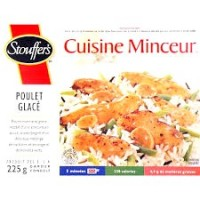 + Lean Cuisine frozen dinner 208-285g