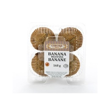 + Concorde bakery muffins (4) 168g