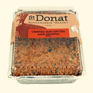 St-Donat bakery date squares 570g