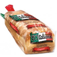 + D'italiano bread thick slices 675g