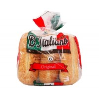 D'italiano hot-dog buns x6