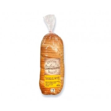 Boulange des campagnards sliced rye bread 675g