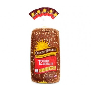 + Country Harvest sliced bread 675g