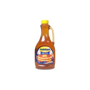 + Habitant (or store brand) table syrup 750ml
