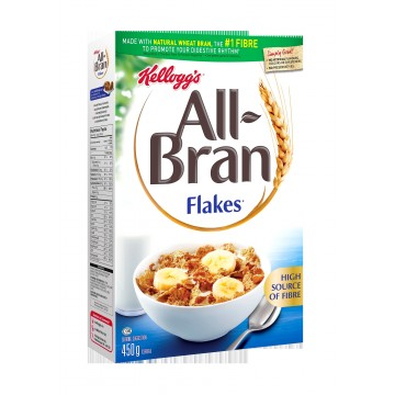 Kellogg's All Bran flakes cereals 450g