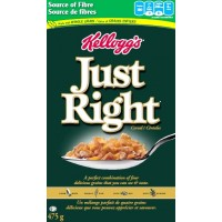 Céréales Just Right de Kellogg's 475g