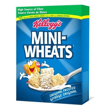 + Kellogg's Mini Wheat cereals 430g-510g