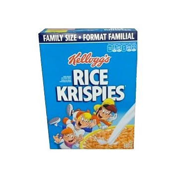 Kellogg's Rice Krispies cereals 640g (family size)
