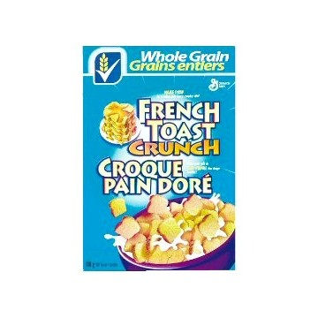 General Mills French Toast Crunch cereals 380g