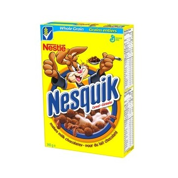 General Mills Nesquik cereals 340g