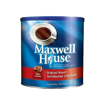 + Maxwell House coffee 925g