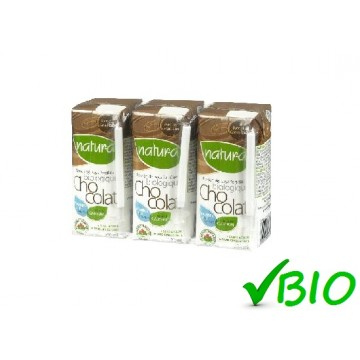 + Natura organic fortified soy beverage 3x 200ml