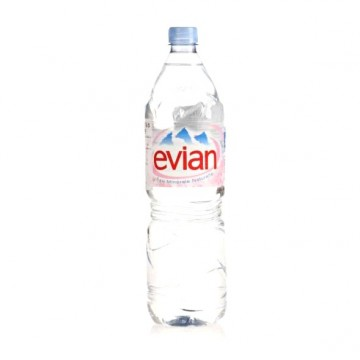 Evian natural spring water 1.5l