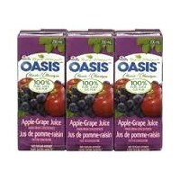 + Oasis juice 3x 200ml pack