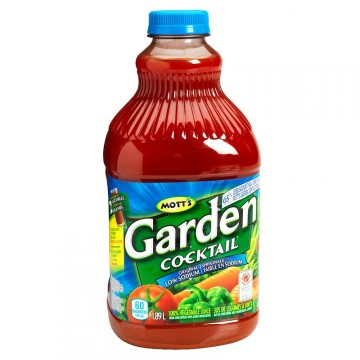 + Mott's garden cocktail 1.89l