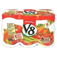 + V8 vegetable cocktail 6x 156ml can