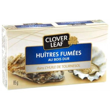 Clover Leaf smoked oysters 85g