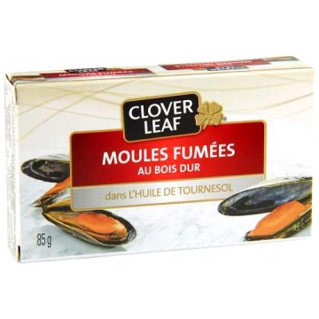 Clover Leaf smoked mussels 85g