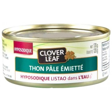 Clover Leaf low salt flaked tuna in water 170g