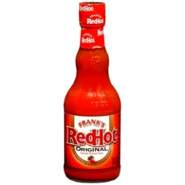 + Frank's red hot sauce 354ml