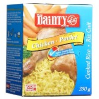 + Dainty instant fried rice 350g
