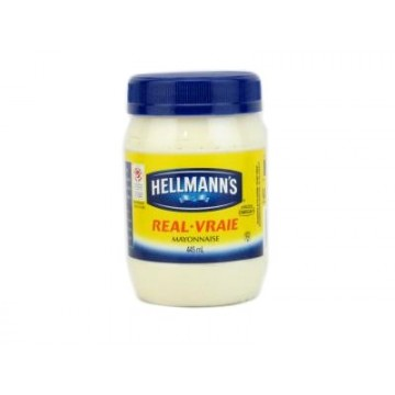 + Hellmann's real mayonnaise 445ml