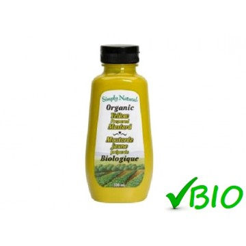 + Simply Natural organic mustard 330ml