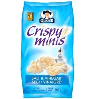 + Quaker Crispy Minis rice chips 100g