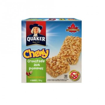 + Quaker chewy bars (6) 156g