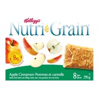 + Barres tendres Kellogg's Nutrigrain 295g
