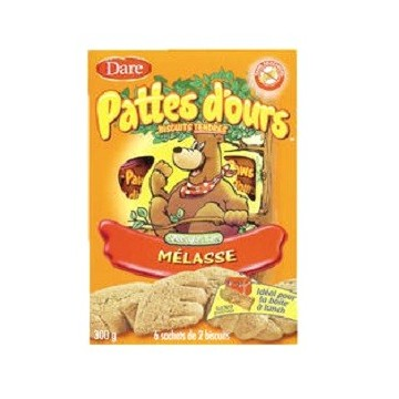 + Dare Bear Paws cookies 189g-300g