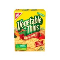 + Christie Vegetable Thins crackers 200g