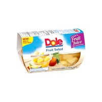 + Dole fruit cups 4x 107ml