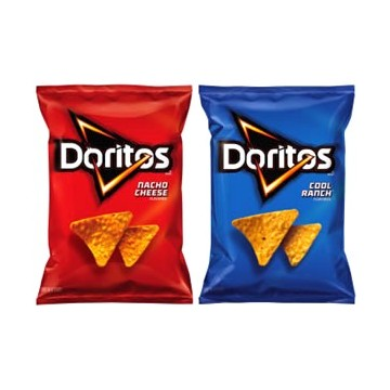 + Doritos tortilla chips 230g-260g