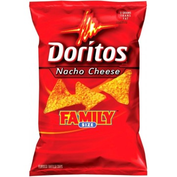 Doritos original tortilla chips 355g (family size)