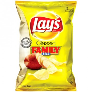 + Lay's potato chips 255g-270g (family size)
