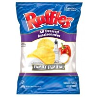 + Ruffles potato chips 340g (family size)