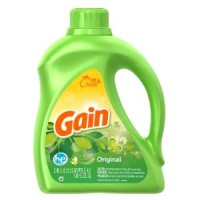 + Gain liquid laundry detergent 2.95l
