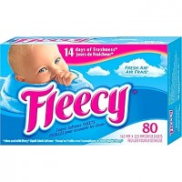 + Fleecy fabric softener (80 sheets)