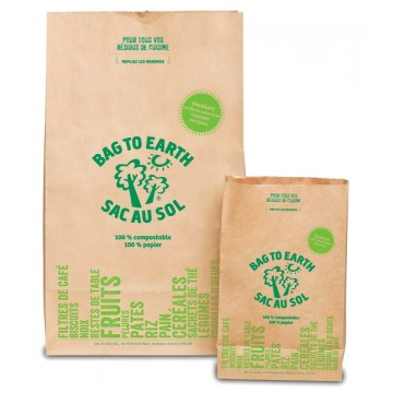 Bag to earth kitchen large organic waste bags (5)