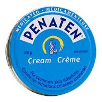 Penaten cream for commom skin irritation 166g