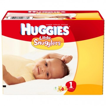 + Couches Huggies taille 1-6 (grosse bte)