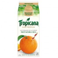 + Tropicana orange juice 1.75l